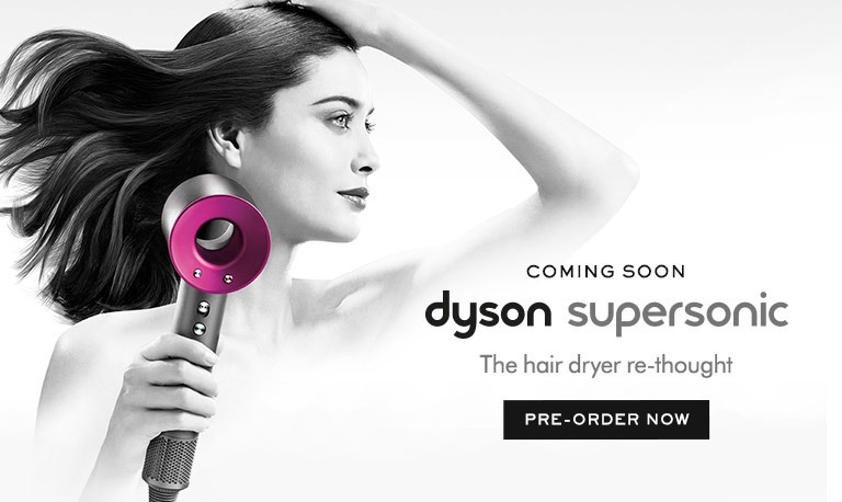 Dyson supersonic. The hair dryer re-thought.