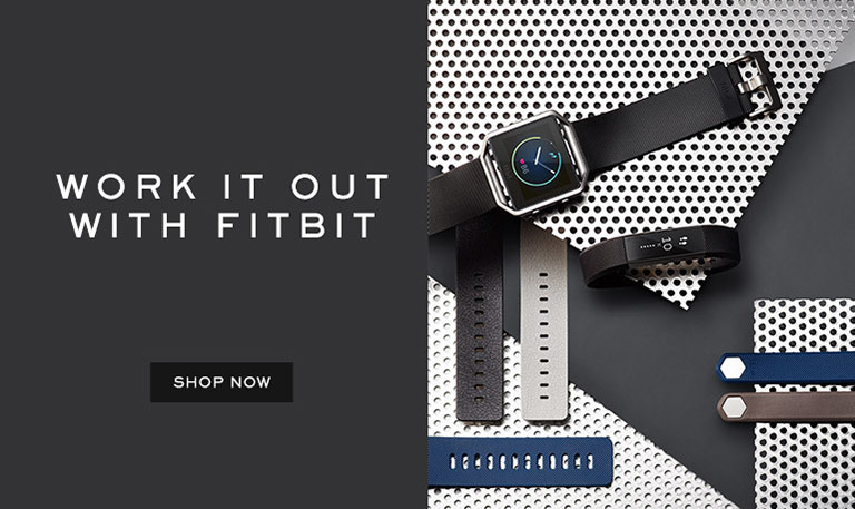 Work it out with fitbit