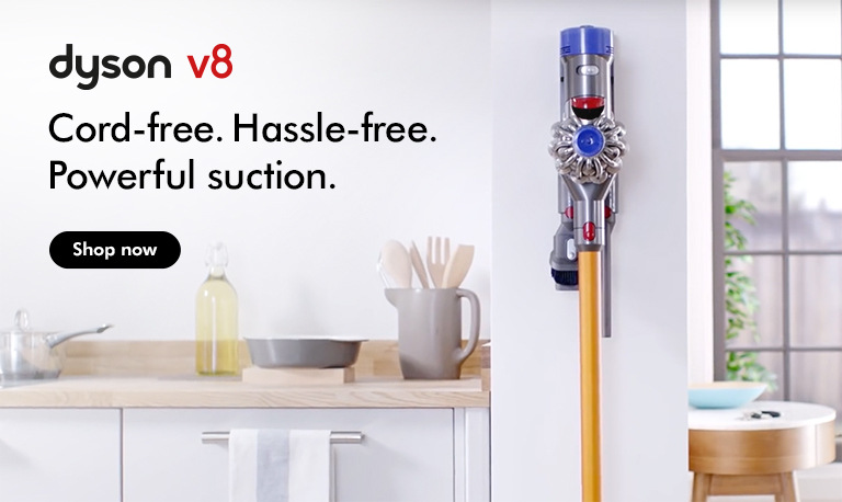 Dyson V8 - available now