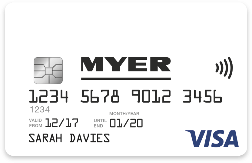 Myer Online Navigation Creditcard - Free invoice templates pdf american girl doll store online