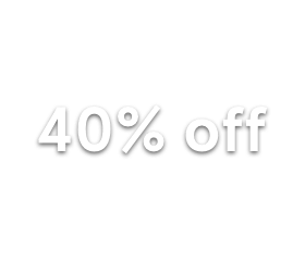 40% off Homewares
