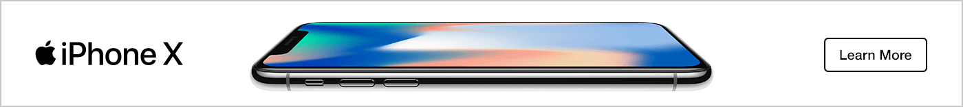 iPhone X: Learn More