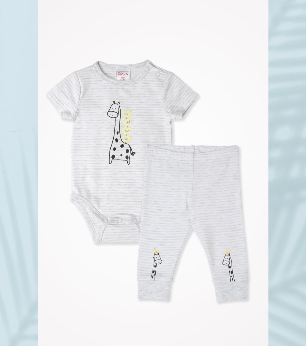 Pants and one-pieces for babies