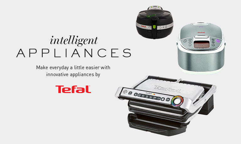 intelligent appliances. Make everyday a little easier with innovative appliances by Tefal