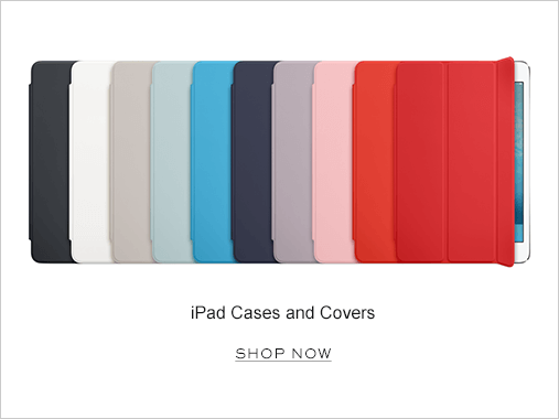 iPad cases and covers