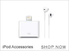 iPod accessories. Shop now
