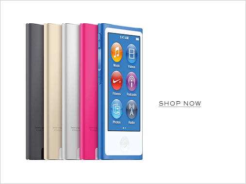 iPad Nano. Shop now