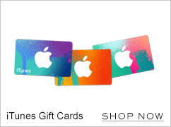 iTunes Gift Cards. Shop now