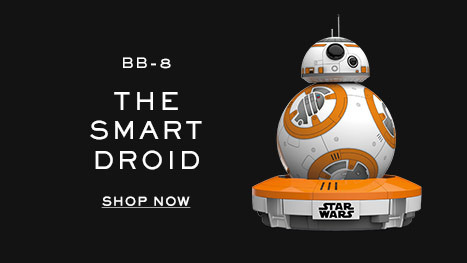 BB-8, the smart droid. Shop now.