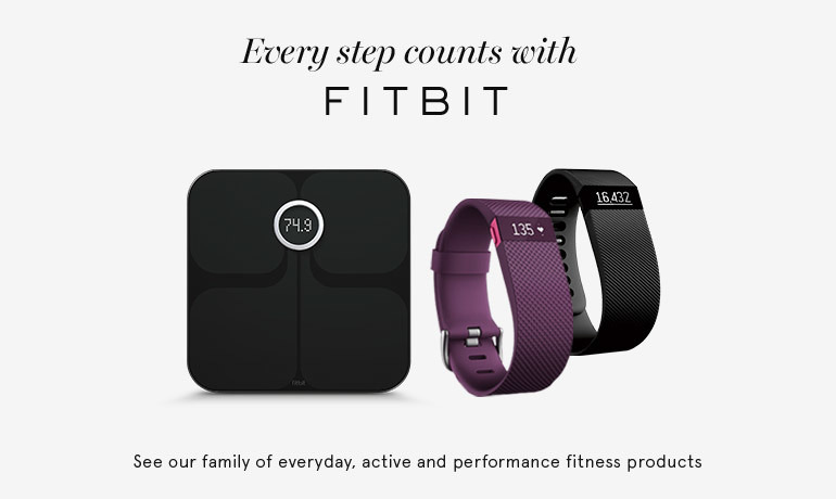 Every step counts with FitBit