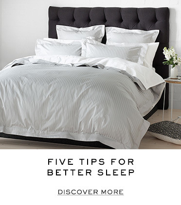 Five tips for better sleep. Discover more.