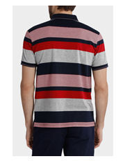Reserve - Short Sleeve Mercerised Stripe Polo