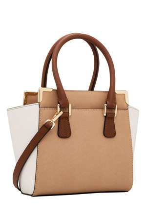 Calvin Klein - H3JE12AC_BNWL On My Corner Saffiano Leather Mini Satchel