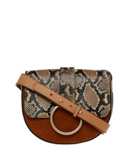 Coccinelle - C1WD6 1201 Snake Saddle with Ring Hardware