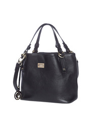 Cellini - CLH005 Ring Handle Satchel in Black