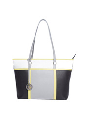 Cellini - CLH010 Multi Colour Tote in Black
