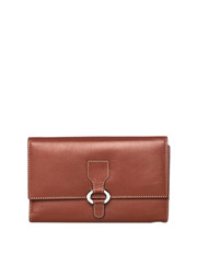 Cellini - CWH007 Easton RFID Large Ring Tab Wallet in Tan