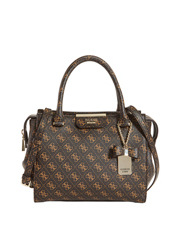 Guess - QL668306BRO Ryann Double Handle Satchel