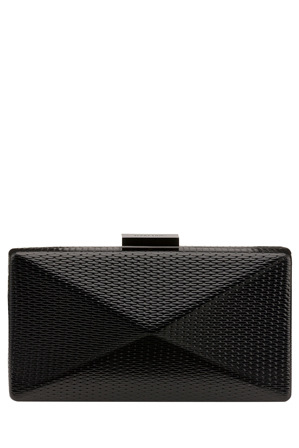 Olga Berg - OB4457 Mica Metallic Angular Pod Clutch