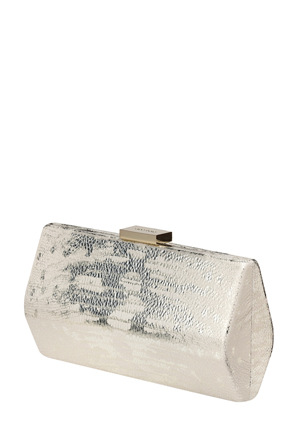 Olga Berg - OB4464 Jordyn Metallic Angular Pod Clutch