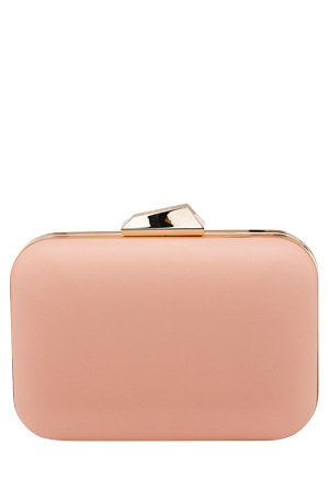 Olga Berg - OB7175 Khloe Rounded Rectangle Pod Clutch