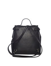 Cue - Trapunto Backpack In Black