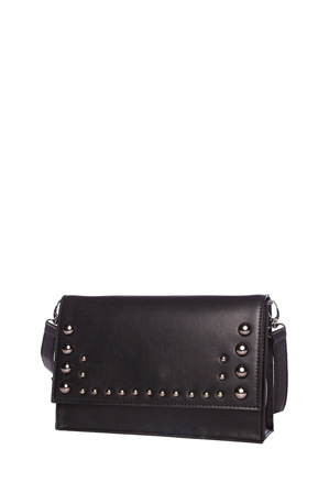 Cue - Dome Stud Clutch In Black