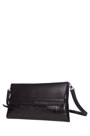Cue - Belt Clutch in Black