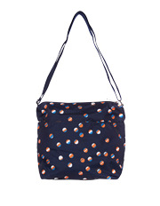 LeSportsac - D827 Small Cleo Crossbody Hobo Beach Ball Play Navy