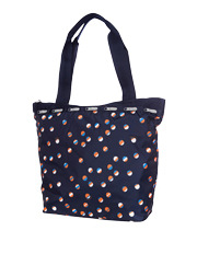 LeSportsac - D827 Small Hailey Tote Beach Ball Play Navy