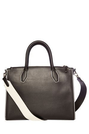 Cue - Contrast Piping Tote