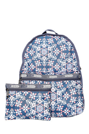 Lesportsac - LG7812 Basic Zip Top Back Pack