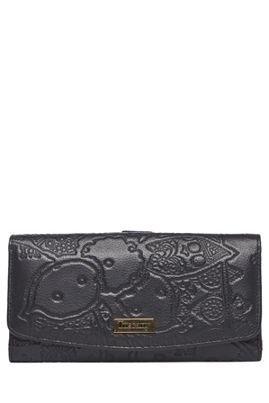 Scala - SCI276 Tina Embossed Large Clutch Wallet
