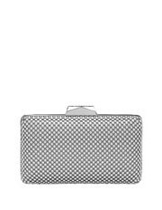 Olga Berg - Ball Mesh Pod Clutch OB5130