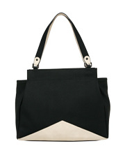Basque - BHH011 Tassel Tote In Black