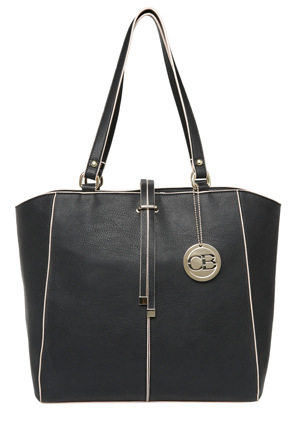 Charlie Brown - CB074612 Structured Revival Tote Tassel Detail