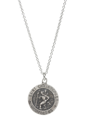 Dogeared - MS1988 St.Christopher Reminder Necklace