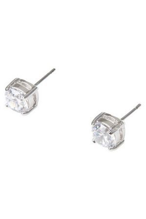 Gregory Ladner - 6mm Cubic Zirconia Round Stud Earring