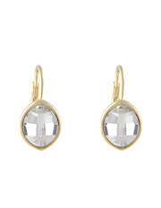 Trent Nathan - 222929 Large Marquis Stone French Wire Earrings
