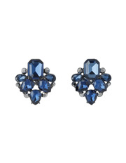 Trent Nathan - TNJHW17ER45 Jewelled Montana Clustered Vintage Crystal Drop Stud Earrings