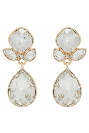 Trent Nathan - TNBJS18ER230A Alternating Round Tear Long Drop Earring