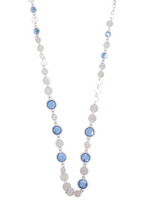 Trent Nathan - TNJHS18NL204 Disc and Stone Long Necklace