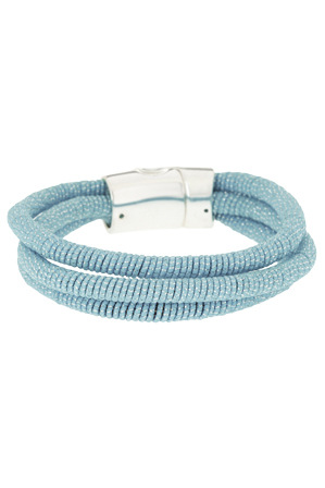 Piper - PIPJ0078 Metallic Twist Cord Bracelet