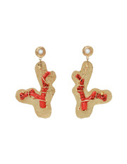 Gas - AFORMENTERA/O Formentera Cactus Earrings in Orange