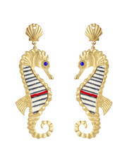 Gas - AHIPPIOS/O Hippios Seahorse Earrings