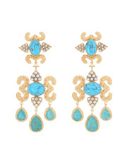 Christie Nicolaides - Aceline Earrings Turquoise