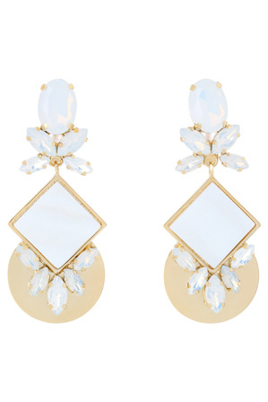 Peter Lang - EA6890 Azzurra II Florina Statement Clip on earrings