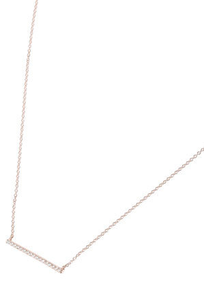 Sally Skoufis - SN0604R Squared Pendant Necklace