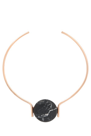 Peter Lang - NE10548 Elixar Rose Gold Tone Necklace