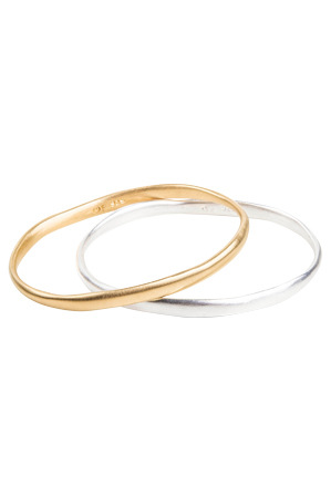 Fairley - Alexa Brushed Bangle